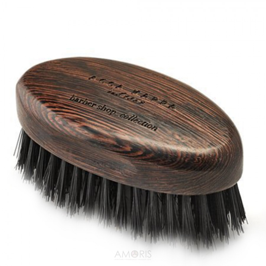 Acca Kappa Beard brush in wenge wood