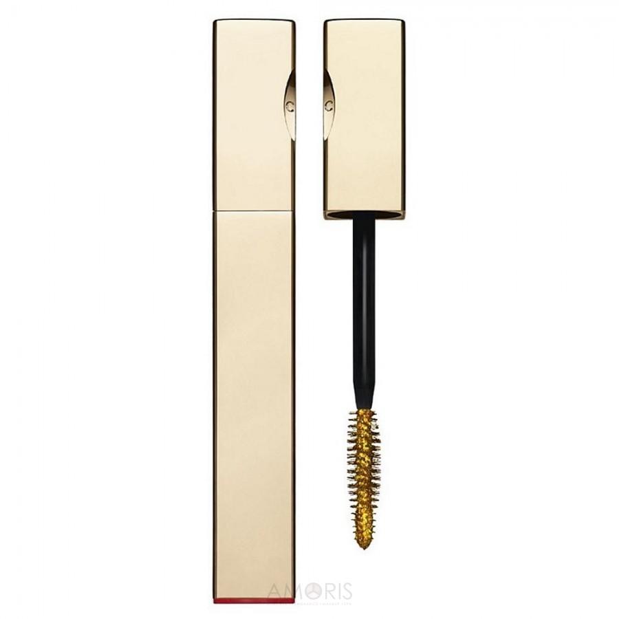 Топовое покрытие для ресниц с золотым эффектом