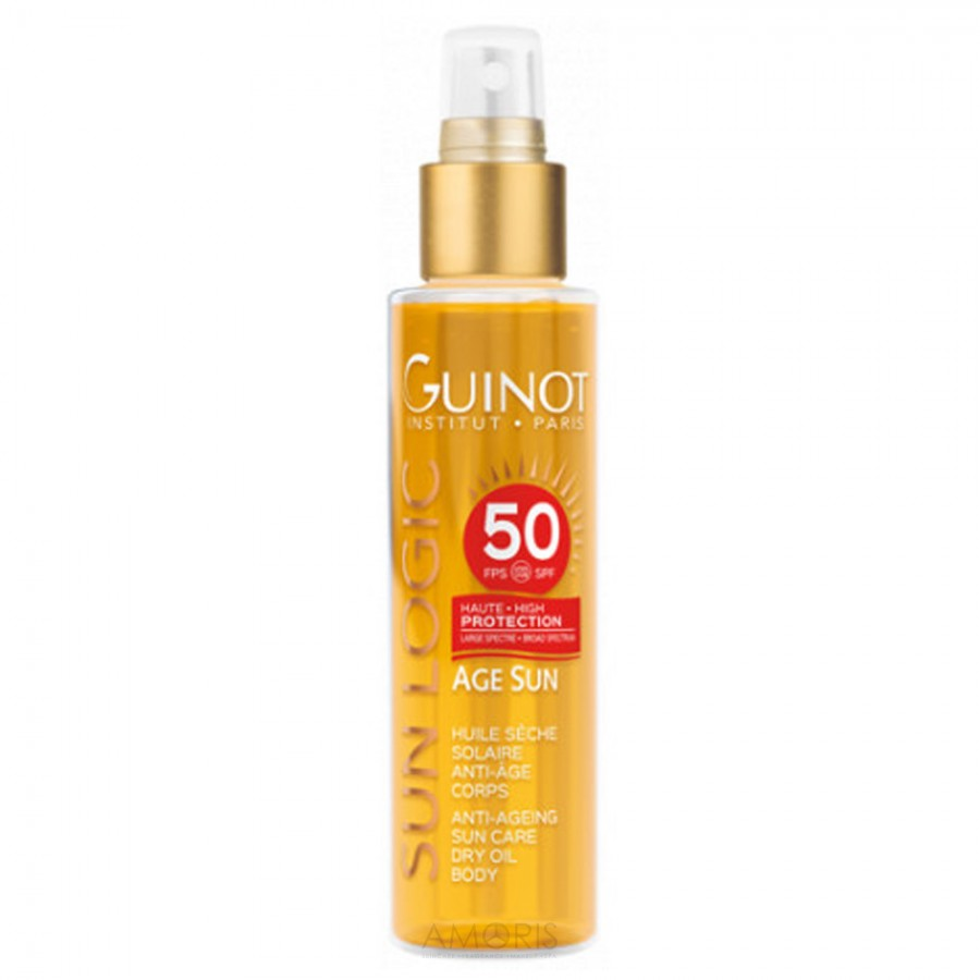 Антивозрастное сухое масло от солнца для тела