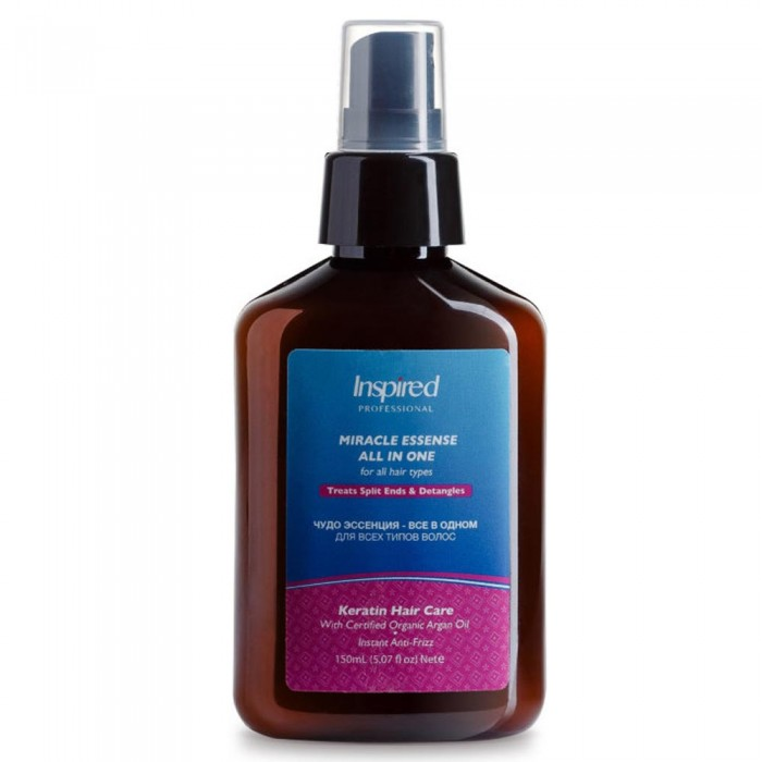 Inspired Keratin Miracle Essense All in One All Hair Types