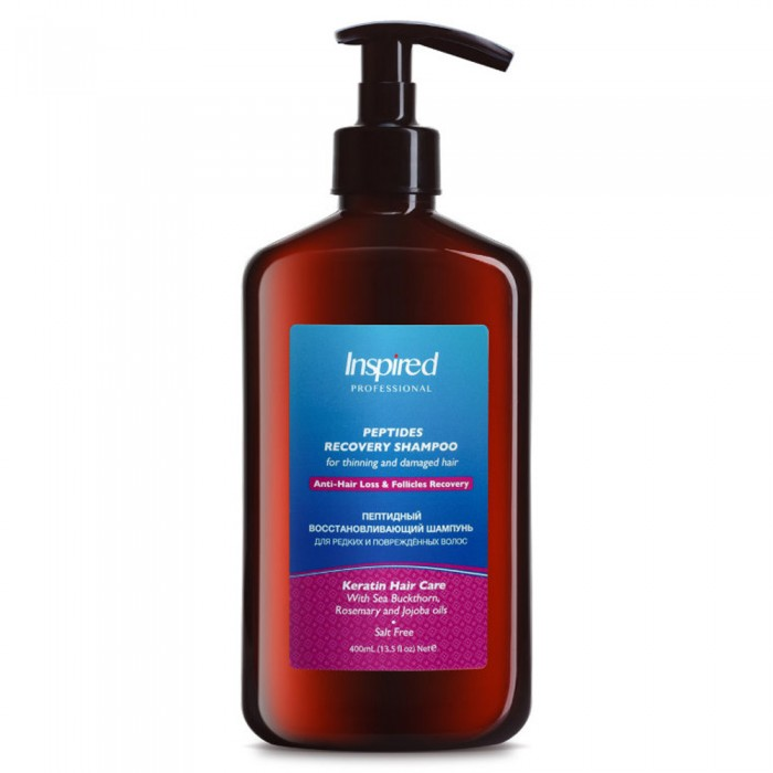 Inspired Peptides Recovery Shampoo For Thinning and Damaged Hair
