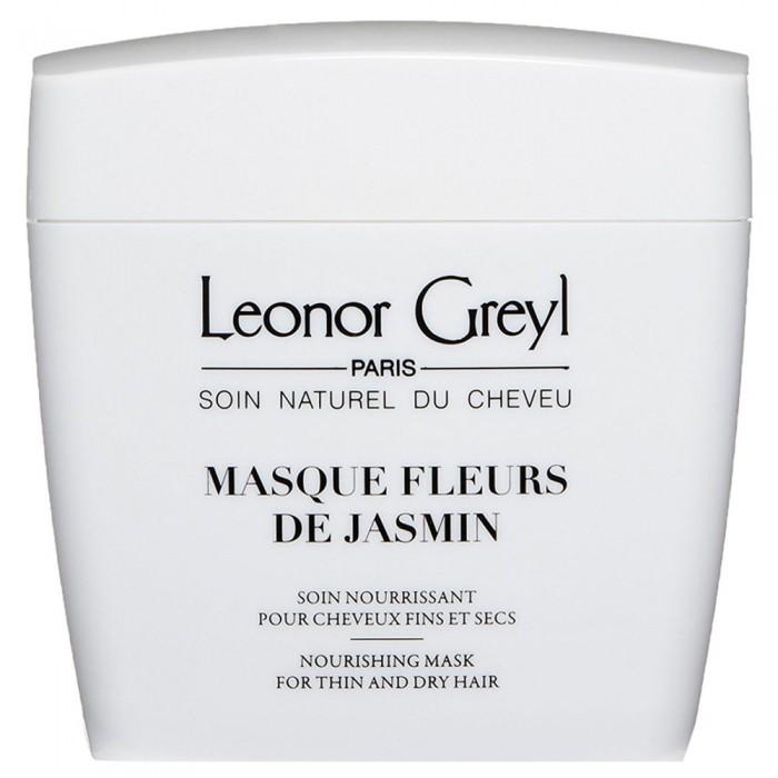 Питательная маска для волос с цветами жасмина