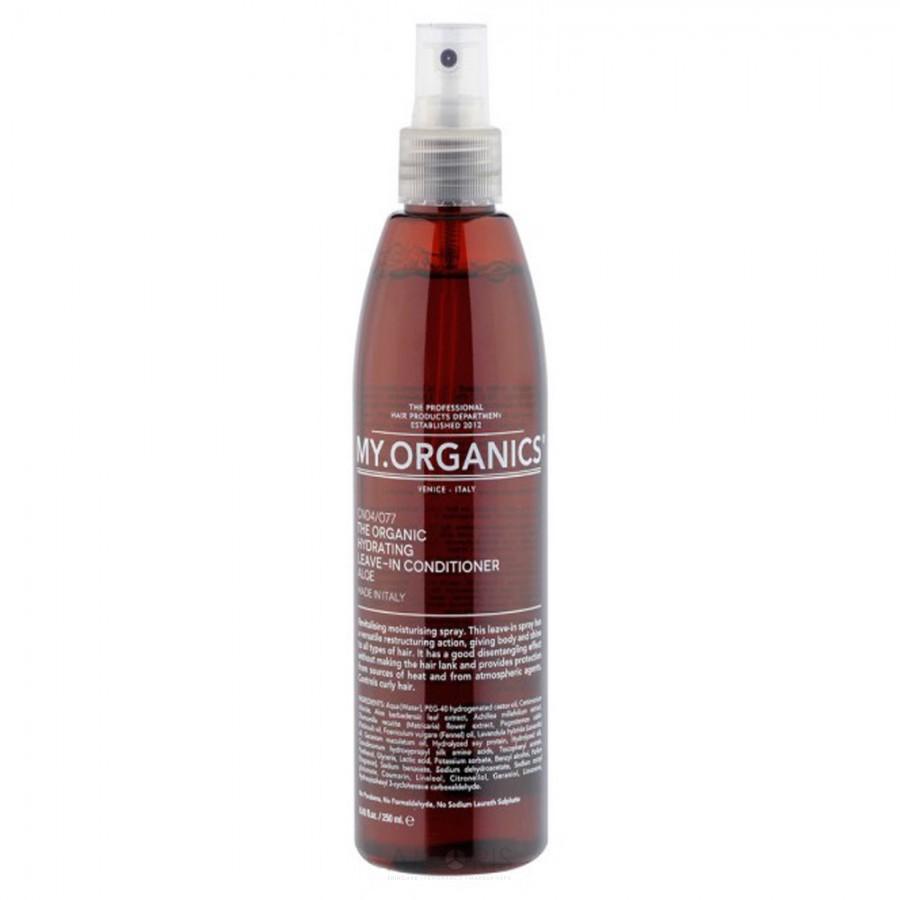 Увлажняющий, восстанавливающий несмываемый спрей-кондиционер с экстрактами алоэ для всех типов волос