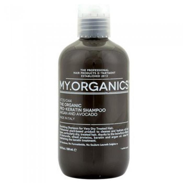 Шампунь PRO-KERATIN с маслами аргана для интенсивного восстановления и поддержания кератинового лечения