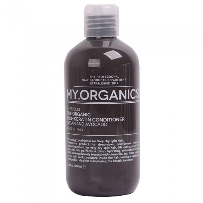 Кондиционер PRO-KERATIN с маслами аргана, авокадо для очень поврежденных, секущихся, пористых волос