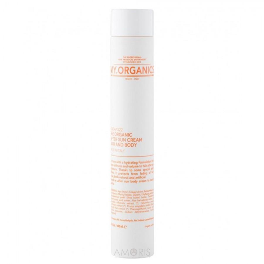 Крем для волос и тела после солнечных ванн