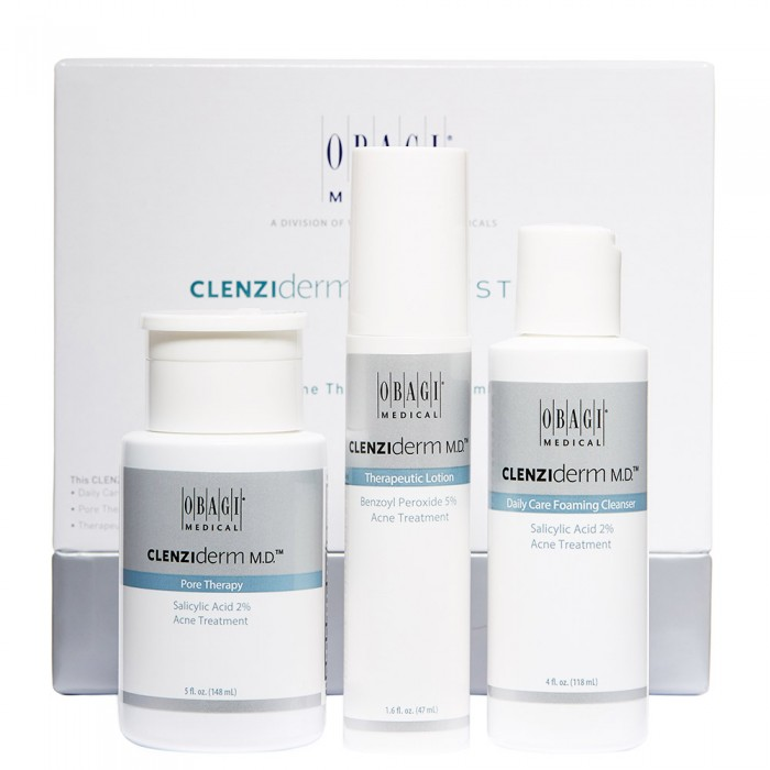 Obagi CLENZIderm M.D. System - Acne Therapeutic System Oily (NO BOX)